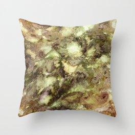 Ground effect Throw Pillow