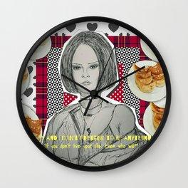 (Badgalriri - Rihanna) - yks by ofs珊 Wall Clock