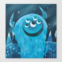 wonder Canvas Prints featuring Wonder by Greg Abbott