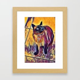 Hey, What About Me? Framed Art Print