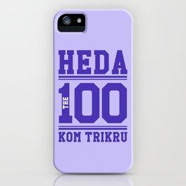 Heda Kom TriKru iPhone Case