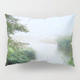 Morning at the lake Pillow Sham