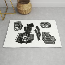 Weapons Of Mass creation - Photography (block print) Rug