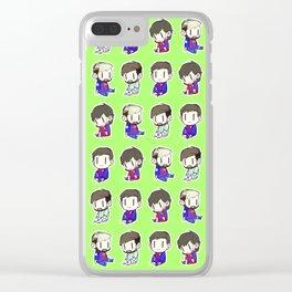 A Whole Lotta Tiny Leos Clear iPhone Case