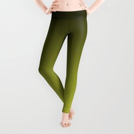 Olive Ombre. Leggings