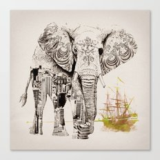 Tattoo Me Canvas Print