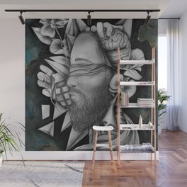 Chaotic Disorders ONE - Original Drawing Wall Mural