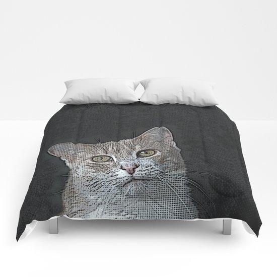 Pretty Kitty Comforters