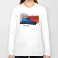 honda Long Sleeve T-shirts featuring Honda Z by Vadim Artemyev