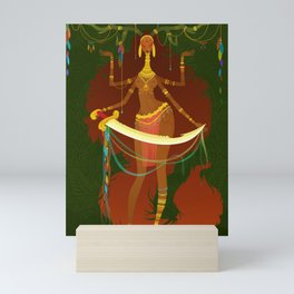 The Graces: Aglaea Mini Art Print