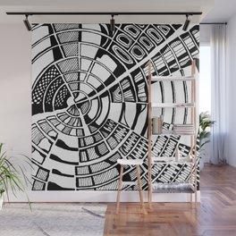 Post Modern Graphic Print Wall Mural