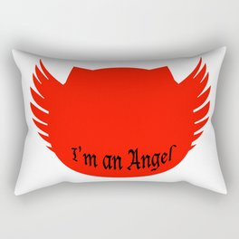 I am an Angel Rectangular Pillow