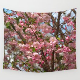 Cherry blossom spring Wall Tapestry
