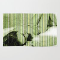 naked Area & Throw Rugs featuring Naked by Cesar Peralta