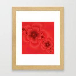 Remembrance Fractal Framed Art Print