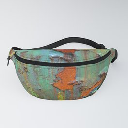 Flaking Paint on Rust Fanny Pack