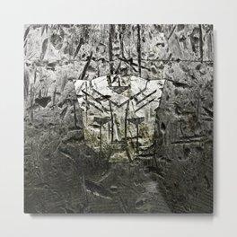 Autobot steel Metal Print