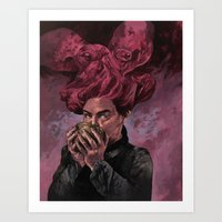 Unholy Communion Art Print