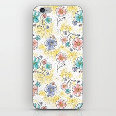 Brilliant Blooms iPhone & iPod Skin