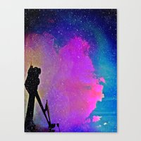 twilight Canvas Prints featuring Twilight by Angela Pesic