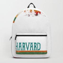 harvard Illinois Retro Vintage Custom Funny Backpack