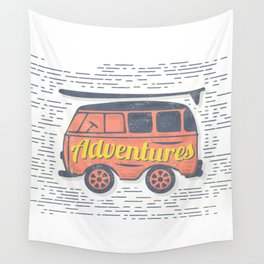 Adventure T-Shirt Wall Tapestry