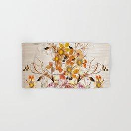 Fall Flower Centerpiece Hand & Bath Towel