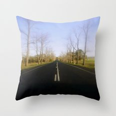 Avenue of Honour Throw Pillow
