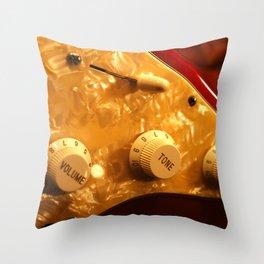 Control Knobs Throw Pillow