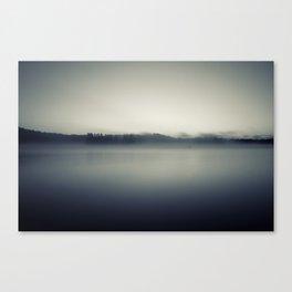The Fog Will Flee Canvas Print