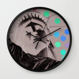 Statue de la liberté Wall Clock
