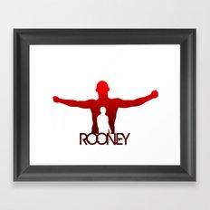 Wayne Rooney Framed Art Print