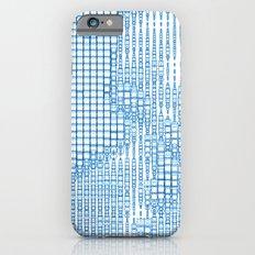 Turquoise Diamond Matrix Slim Case iPhone 6s