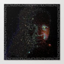a moment in space Canvas Print