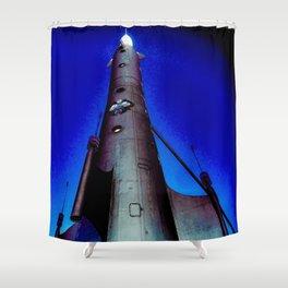 Fremont Rocket, Seattle Shower Curtain