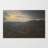 palestine Canvas Prints featuring Nablus, Palestine by ear2ear