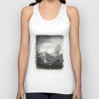 ship Tank Tops featuring Ship by Sylinter