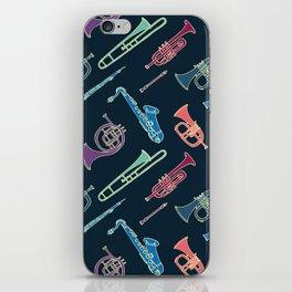 Wind instruments iPhone Skin