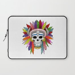 Shamanistic skull Laptop Sleeve