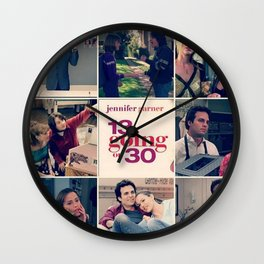 13 going on 30 Wall Clock