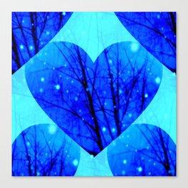 Starlit Love Canvas Print