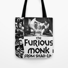 Vintage Film Poster - The Furious Monk Tote Bag