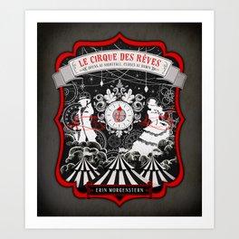 Night Circus Art Print