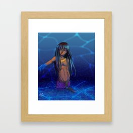 Nun - The primordial ocean Framed Art Print