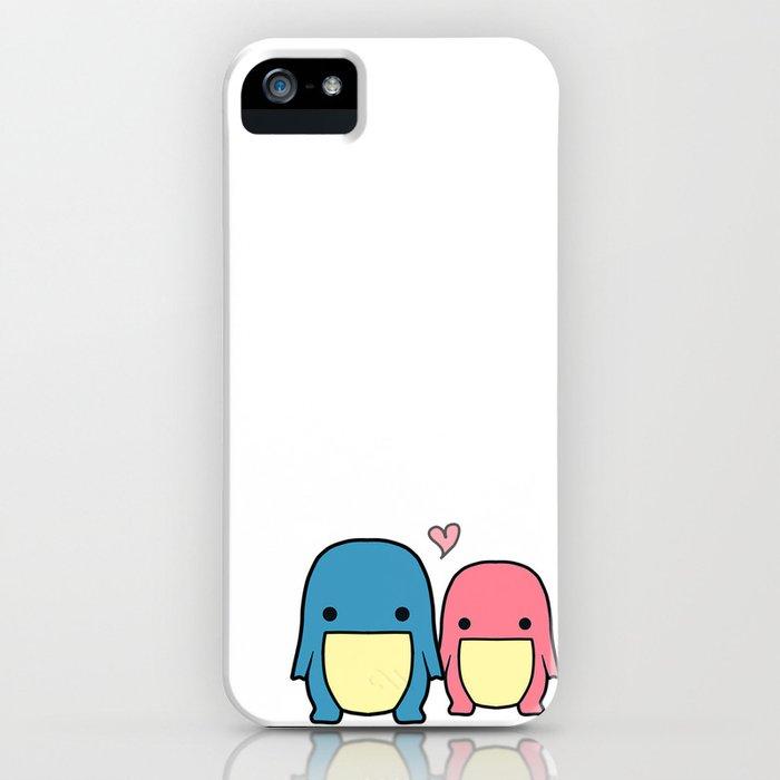 Blue & Pink Quaggan iPhone Case