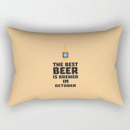 Best Beer is brewed in October T-Shirt D5k5z Rectangular Pillow