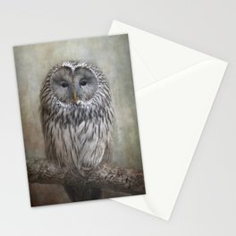 Ural Owl ( Grey owl ) Stationery Cards
