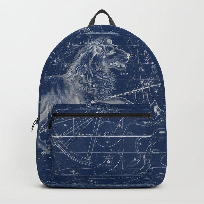 Leo sky star map Backpack
