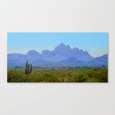 On the Ride Home Canvas Print