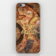 Travel Spirit #10 iPhone & iPod Skin